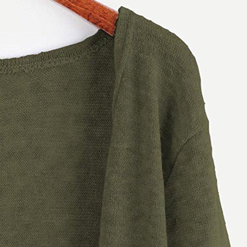 Coat Manche Cape Polyester lapin Longue Velours Peluche Longue Manteau Outwear M 55 Gilet Vert Pull Veste Casual Bonnetterie Sweaters de acrylique 10 Chandail GongzhuMM Cardigans 35 Femmes Tricot 1PwqZx5E