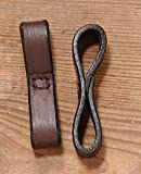 EquiRoyal Leather Bit Loops - Brown