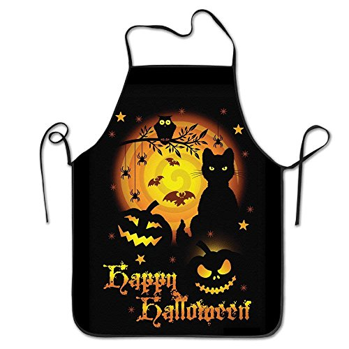 Sea turtle Funny Bib Kitchen Apron Happy Scary Halloween Horror Gift Idea Grilling Comfortable -