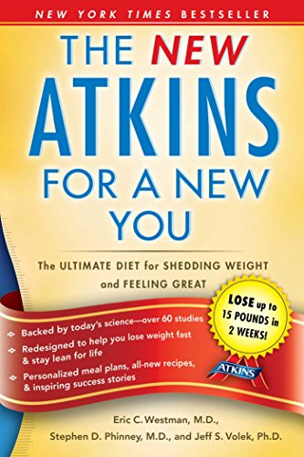The New Atkins for a New You: The Ultimate Diet for Shedding Weight and Feeling Great cover