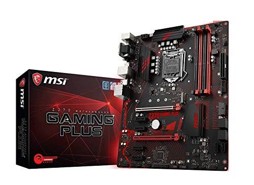 MSI Performance Gaming Intel 8th Gen LGA 1151 M.2 D-Sub DVI DP USB 3.0 Gigabit LAN CFX ATX Motherboard (Z370 Gaming Plus) (Renewed)