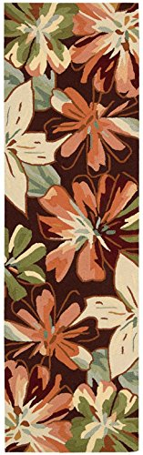 - Nourison Fantasy (FA16) Multicolor Runner Area Rug, 2-Feet 3-Inches by 8-Feet  (2'3