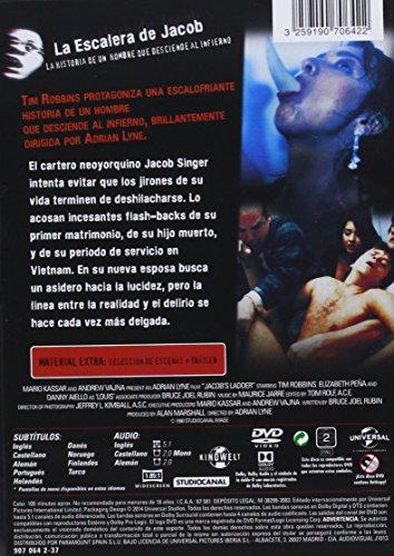 La Escalera De Jacob [DVD]: Amazon.es: Tim Robbins, Elizabeth Peña ...