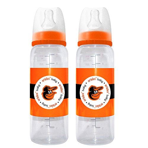 MLB Baltimore Orioles Baby Bottles, 2-Pack