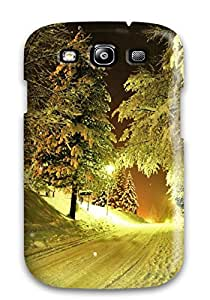 Galaxy Cover Case - Winter Night Protective Case Compatibel With Galaxy S3