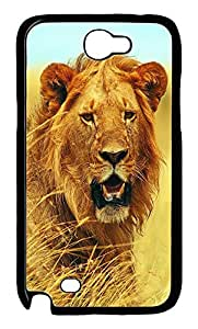 Samsung Note II Case Lion With Sweaty Mane PC Custom Samsung Note 2 Case Cover Black