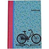 A5 Casebound Notebook - Vintage Floral - 140 Pages - Ruled