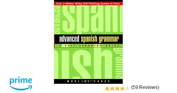 Amazon.com: Advanced Spanish Grammar: A Self-Teaching Guide ...