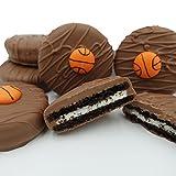 Philadelphia Candies Milk Chocolate Covered OREO® Cookies, Basketball Gift Net Wt 8 oz