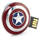 Marvel Avengers USB 64GB Flash Drive Avengers Shield of Captain America