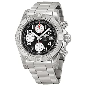 Breitling Men's BTA1338111-F564SS Avenger II Analog Display Swiss Automatic Silver Watch