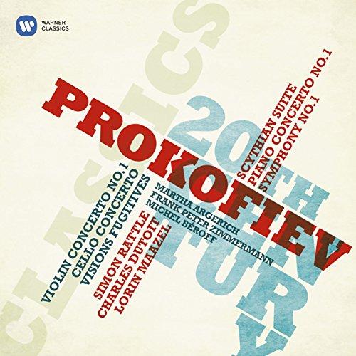 Prokofiev: Symphony No. 1 - Classical/Piano Concerto No. 1/Scythian Suite/Violin Concerto No. 1/Visions Fugitives/Cello Concerto/Sinfonietta/Overture on Hebrew Themes