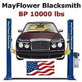 Mayflower Blacksmith Base Plate Two Post Lift car