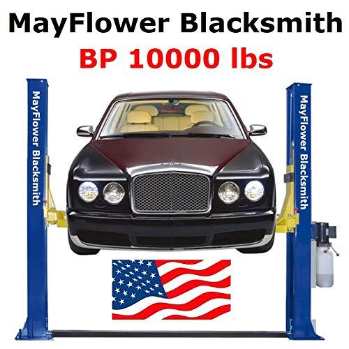 Mayflower Blacksmith Base Plate Two Post Lift car Lift 10000 lbs - Post Car 2 Lift