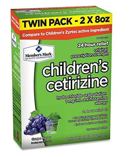 Members Childrens Cetirizine Solution Compare product image
