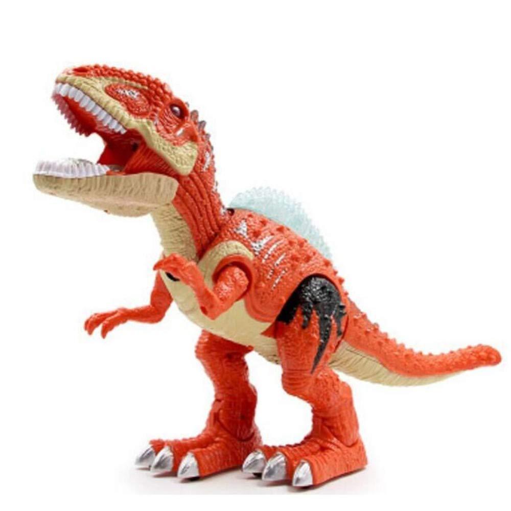 GIKMHYB Dinosaurier-Spielzeuglicht Der Der Der Kinder Gehendes Entenschnabeldrachtonsimulationsmodell-Jungengeschenk,Orange 2b20ad