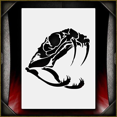 Airbrush T-Shirt Background Tool Snake Skin New!