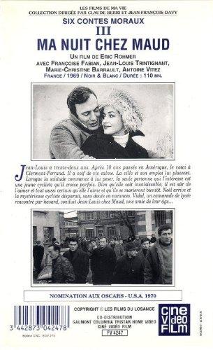 Ma nuit chez Maud (Film en noir et blanc)