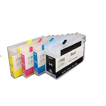 Amazon.com: 711 - Cartucho de tinta recargable vacío con ...