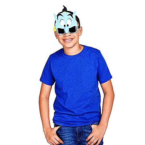Sun Staches Costume Sunglasses Aladdin Genie Party Favors Uv400