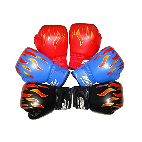 Kid Boxing Gloves Child Punching Gloves Punch Bag Fight Sparring Training, 6oz for 3 to 10 YR