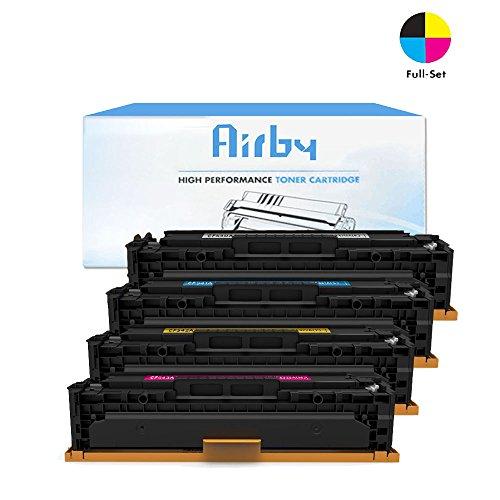 Airby® CF540X CF541X CF542X CF543X HP 203X Cartucho de Tóner ...