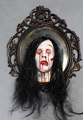 BACK FROM THE GRAVE Bloody Mary Mirror | Halloween Prop - Haunted House Decoration -