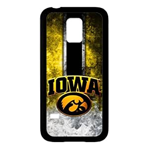 Generic Customize Unique Otterbox--NCAA Iowa Hawkeyes Team Logo Plastic and TPU Case Cover for SamsungGalaxyS5(Laser Technology)