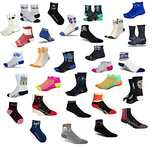 6 Pairs Coolmax Running, Cycling, Athletic Socks Mix Colors (Medium, Female)