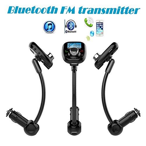 Car MP3 Player Bluetooth FM Transmitter Wireless FM Modulator Remote Control Car Kit Hands-Free Talk A2DP USB SD MMC New 2015 by EinCar
