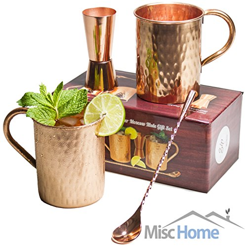 [Gift Set] Moscow Mule Copper Mugs 100%  - Everett Gift Set Shopping Results
