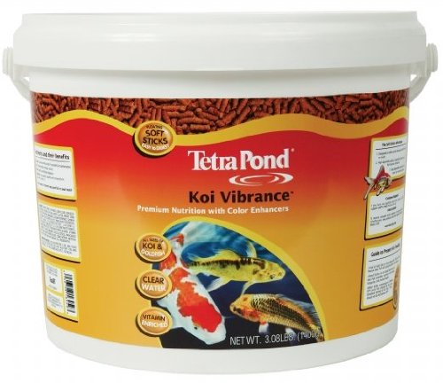 Tetra Pond 16459 3.08 Lb Koi Vibrance Pond Fish Food