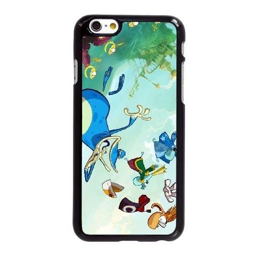 Origines de Rayman G7K87 F8K5PS coque iPhone 6 4.7 pouces cas de couverture de téléphone portable coque noire HY5SDB1YR