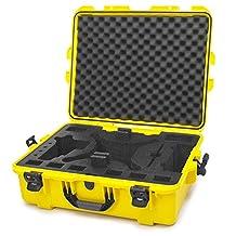 Nanuk 945-DJI34 Waterproof Hard Case with Foam Insert for DJI_Phantom 3 - Yellow (OBSOLETE)