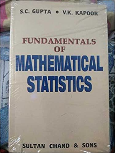 Amazon in: Buy FUNDAMENTALS OF MATHEMATICAL STATISTICS Book Online