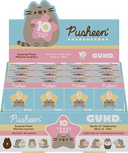 "GUND Pusheen Blind Box Series #12: Celebration Surprise Mystery Plush, 3"""