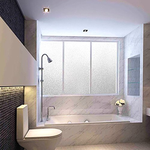 MVPower Window Film Non Adhesive Frosted Privacy Window Film Self Static Cling for Home Kitchen Office Bathroom,35.5''x 78.7'' by MVPower (Image #6)
