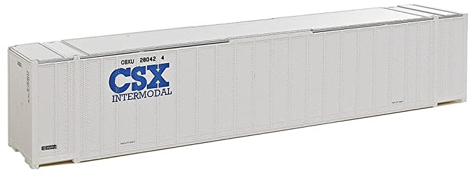 Amazon com: Walthers, Inc  Assembled CSX Intermodal Ribbed Side