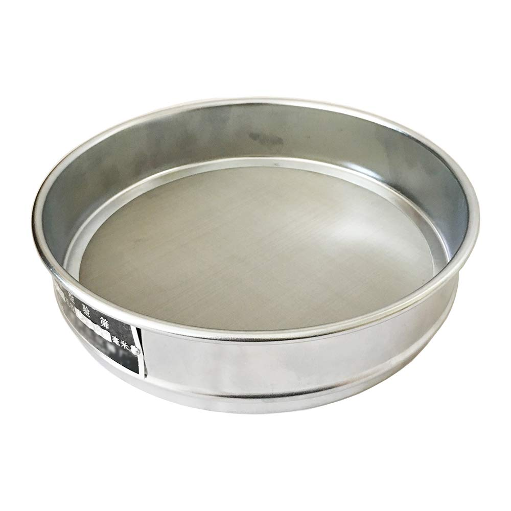KimLab Test Sieve #60 / 250μ m Mesh Size,304 Stainless Steel Wire Cloth, 8' Diameter 8 Diameter