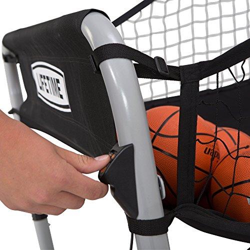 Lifetime 90648 Double Shot Deluxe Indoor Basketball Hoop Arcade Game
