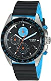 Fossil Men's CH3079 Sport 54 Chronograph Gray Silicone Watch