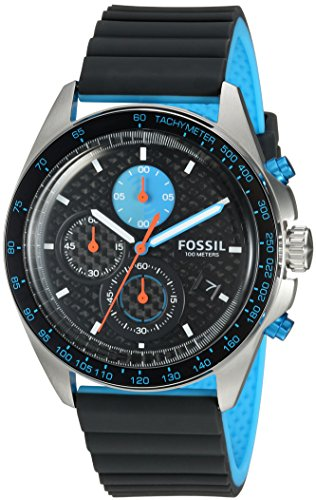 Fossil-Mens-CH3079-Sport-54-Chronograph-Gray-Silicone-Watch