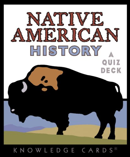 Native American History Knowledge Cards Deck