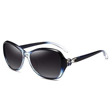 LIUXUEPING Gafas De Sol De Marco Pequeño Modelo De Rostro Femenino Pequeño Y Elegante Protección UV