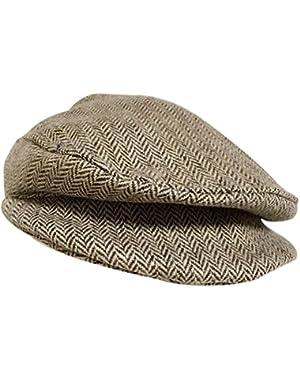 1PC Coffee Baby Kids Boy Girl Beret Cap Gentleman Dome Hat Baseball Cap