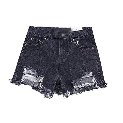 A Fashion Schwarz Pantaloncini Donna Estyle TBIxwO8
