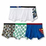 Justice League Boys Boxer Brief 5 PACK Underwear Batman Superman (6)