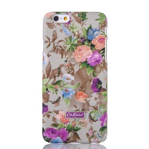 Monkey Cases® iPhone 6 - 4,7 Zoll - Buntes Kunststoff Case for iPhone 6 - Blumen Schmetterling - Handyhülle - ORIGINAL - NEU/OVP - Colourful Flowers Butterflys