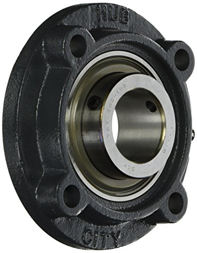 - Hub City IndustriaLine 1003-02703 FC350X1-1/2 Flange Cartridge Bearing, 1.5