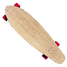 New Kicktail Longboard Complete - Canadian Maple 9.75in x 36.5in Concave 76mm Whls